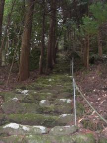 韓竈神社石段