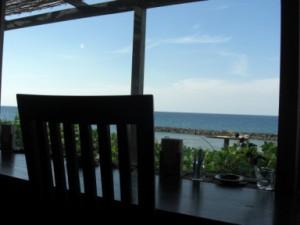 珈琲店「蒼」窓から眺める風景