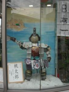 一式飾り・桃太郎の凱旋
