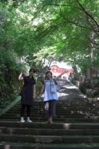 鰐淵寺座禅体験